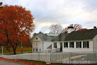 Farmhouses, New England
