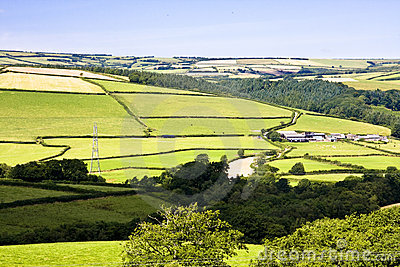 Farming countryside