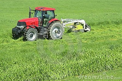 Farming Farm Cutting Grass