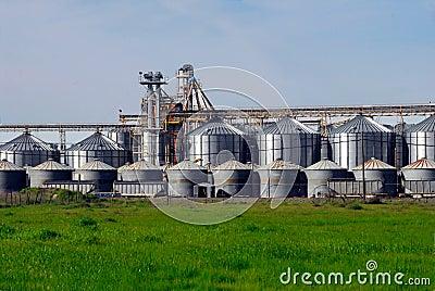 Farming Grain Silos