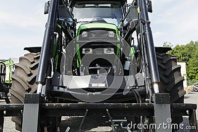 Farming tractor, close ups