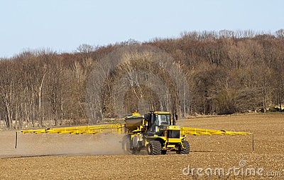 Farml Chemical Spraying truck