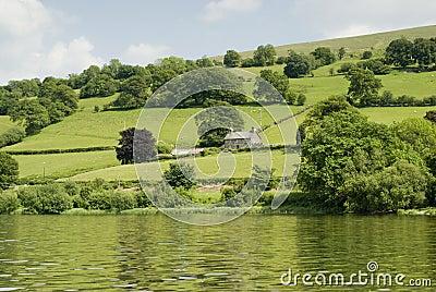 Farmland in Wales