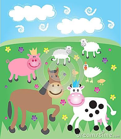 Farmyard field