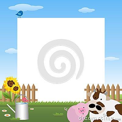 Farmyard frame