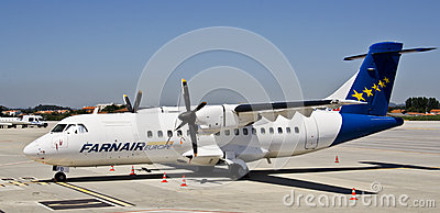 Farnair Europe, ATR 42-320 Editorial Image