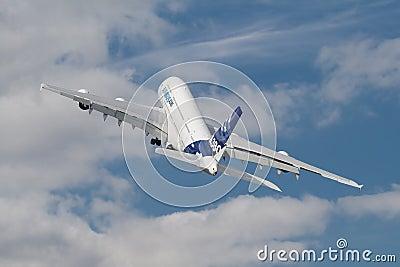 Farnborough A380 Editorial Photography