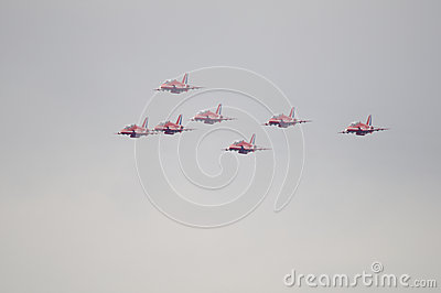 Farnborough Airshow 2012 Editorial Stock Image