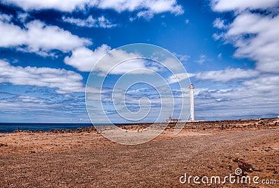 Faro de pechiguera playa blanca