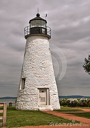 Faro del punto di accordo a Havre de Grace, Maryland