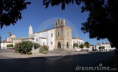 Faro Se Cathedral in Algarve, Portugal