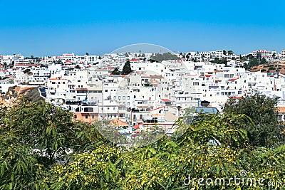 Faro town in Portugal