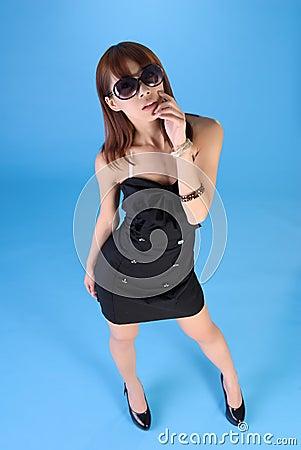 Free Fascinating Asian Woman Royalty Free Stock Photos - 16335408