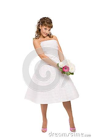 Fascinating bride