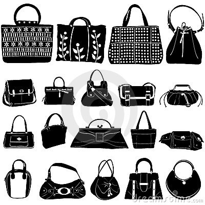 Free Fashion Bag Vector Royalty Free Stock Photo - 5076235