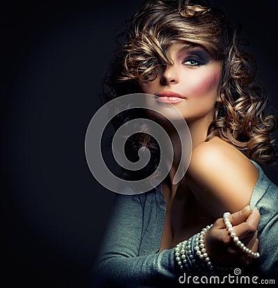 Free Fashion Beauty Girl Royalty Free Stock Photography - 21779407
