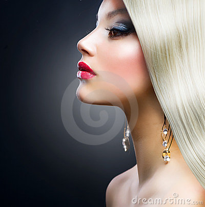 Fashion Blond Girl