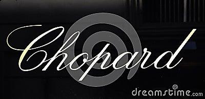 Fashion brand logo Editorial Stock Photo