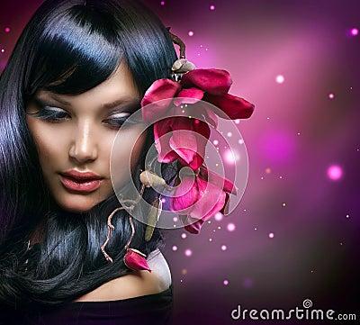 Free Fashion Brunette Girl Royalty Free Stock Photo - 24054975