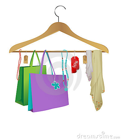 Fashion cloth hanger