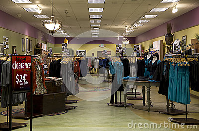 store with nice interiors selling women clothing in Alderwood Mall