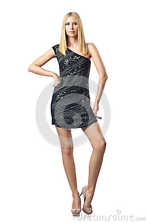 Fashion concept with attractive woman