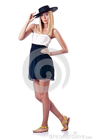 Fashion concept - woman