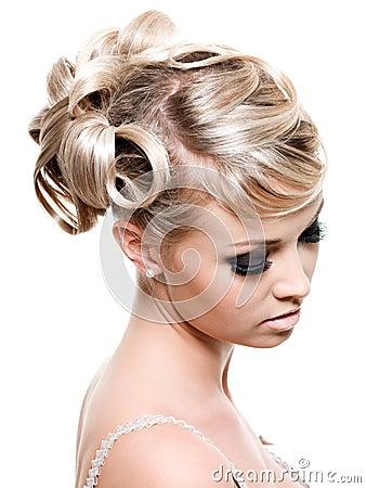 Fashion creative hairstyle