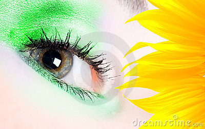 Fashion Eye Royalty Free Stock Image - Image: 11192326