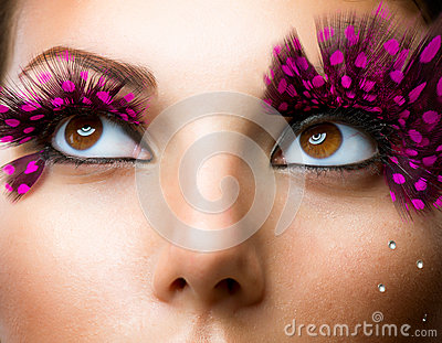 Fashion False Eyelashes