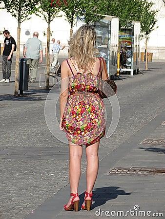 Fashion girl Editorial Stock Photo