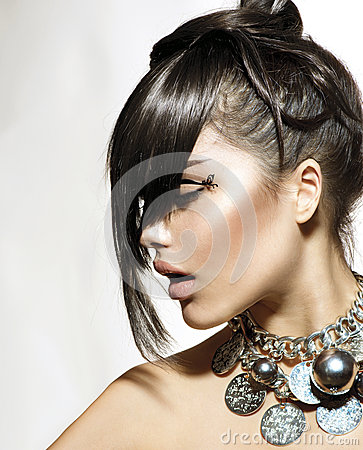 Fashion Glamour Beauty Girl