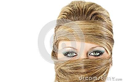 Fashion hair blond