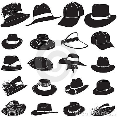 Free Fashion Hat Vector Royalty Free Stock Images - 5076249
