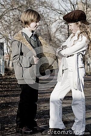 Free Fashion Kids Stock Photo - 7440520