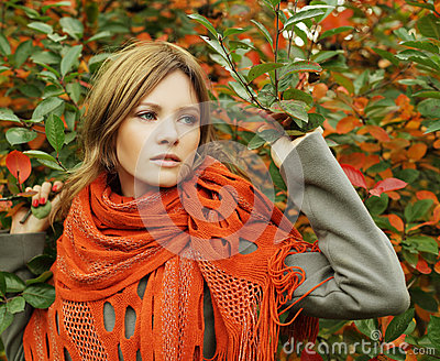 Fashion lady, glamour beauty