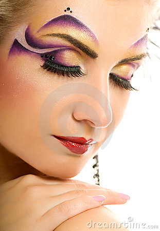 Free Fashion Make-up Stock Photography - 4568182