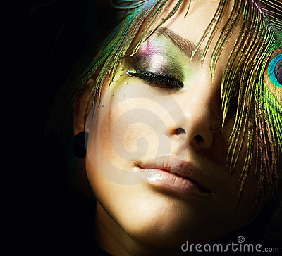 Fashion Makeup Stock Photography - Image: 16352852