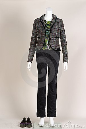Fashion on mannequin