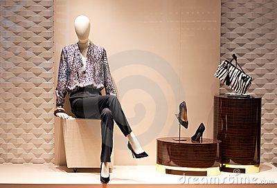 Fashion Mannequin Display