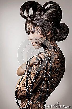 Free Fashion Model. Stock Photography - 12705612