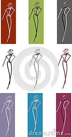 Fashion Model Icon