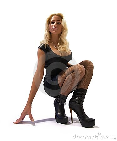 Free Fashion Model In High Heels  Stock Image - 13580401