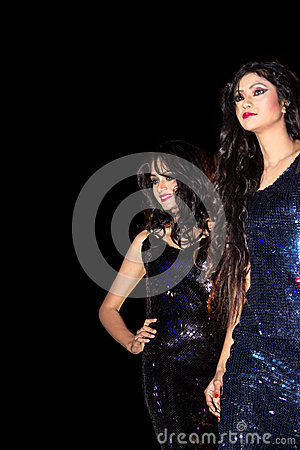 fashion-modeling-models-background-indian-girls-women-standing-side-side-against-night-dark-black-young-good-looking-girls-38532633 The Bridal Marketplace in Bulgaria