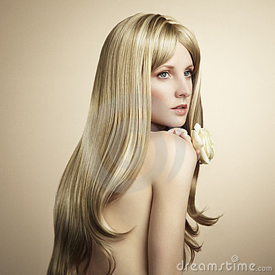 Free Fashion Photo Of A Young Woman With Blond Hair Royalty Free Stock Photos - 23936688