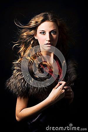 Free Fashion Portrait Stock Photo - 8005730