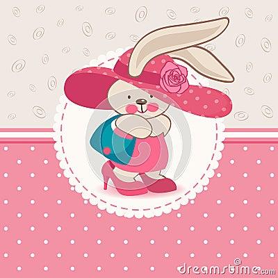 Free Fashion Rabbit Royalty Free Stock Photography - 30770857