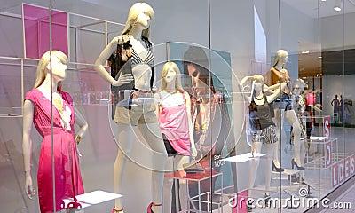 Fashion retail Editorial Stock Image