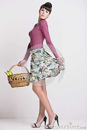 Fashion Retro Spring Style Stock Photo Image 30610780