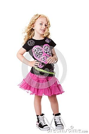 Fashion rock n roll child